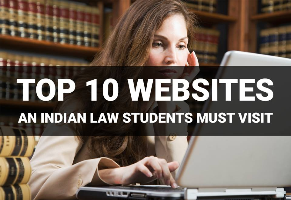 Top 10 Websites for Indian Law Students