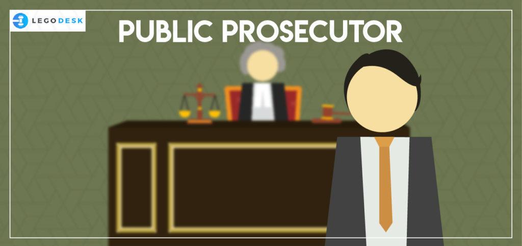 public prosecutor functions