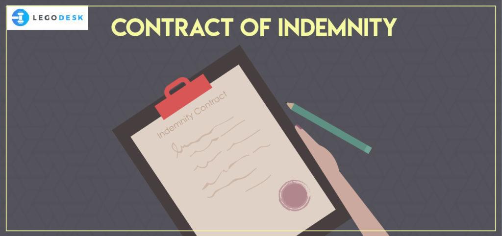 essentials of contract of indemnity