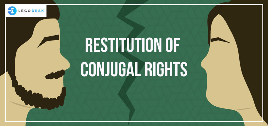 restitution of conjugal rights in India