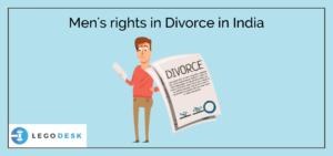 Men's rights in Divorce in India