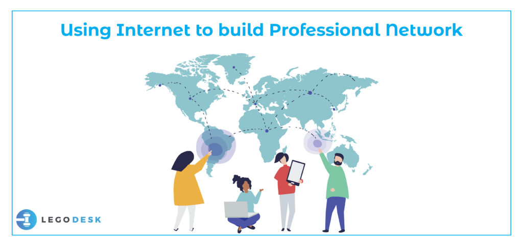 internet in building professional network