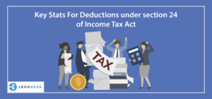 Deductions under section 24 of income tax act