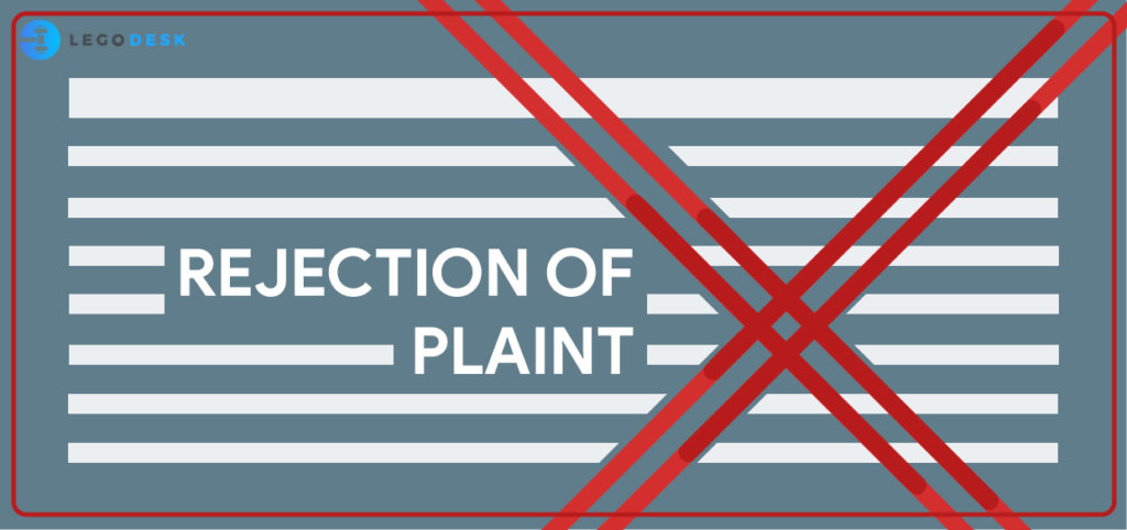 rejection of plaint cpc