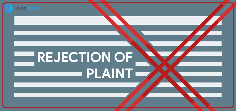Rejection of Plaint under Civil Procedure Code