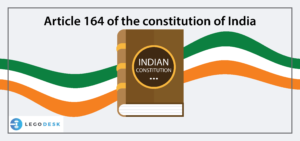 article 164 of indian constitution
