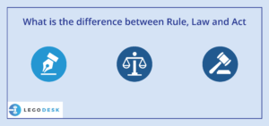 difference between rules and laws