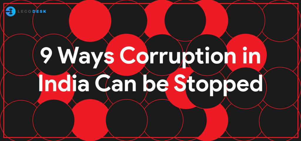 how to stop corruption