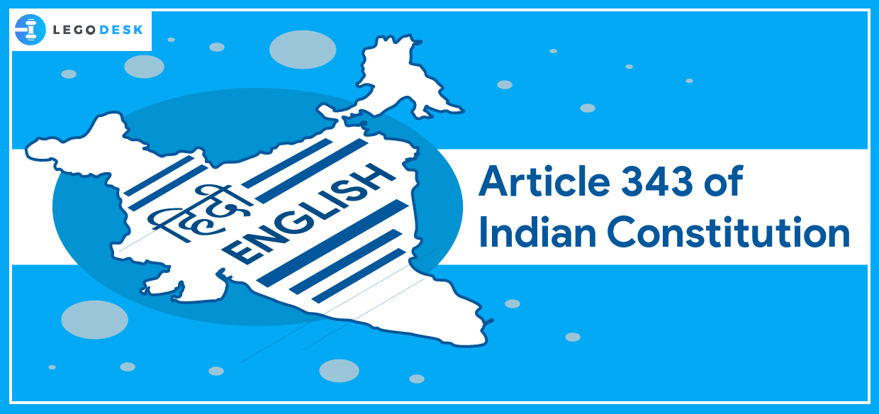 Article 343 of Indian Constitution