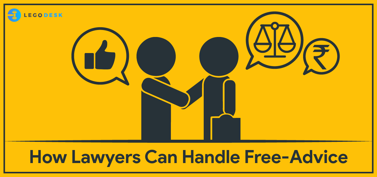 How Lawyers Can Handle Free-Advice Seekers