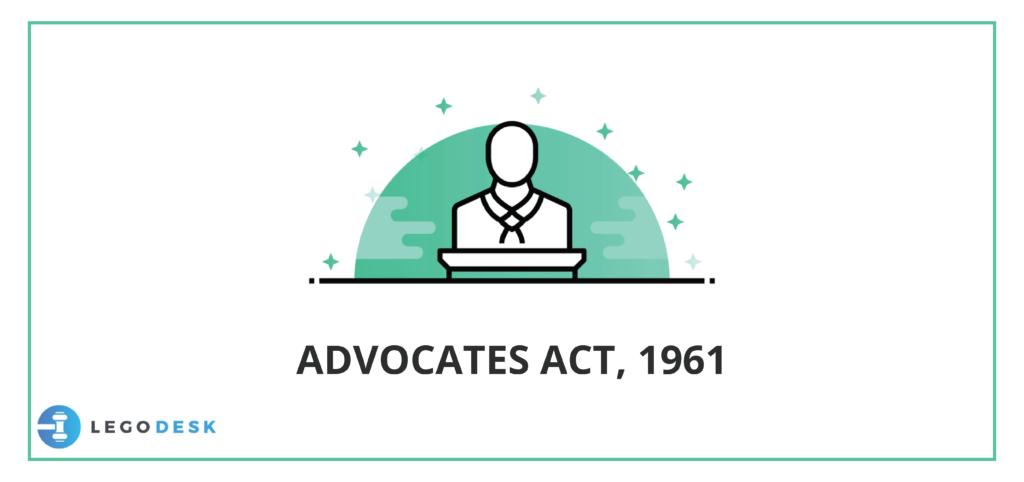Advocates Act, 1961