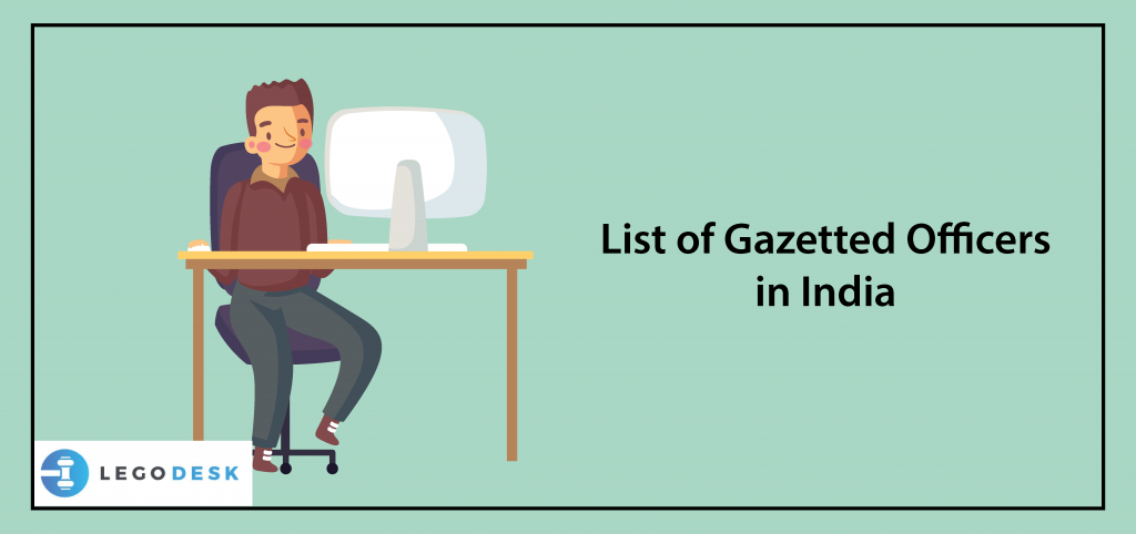 list of gazetted officer