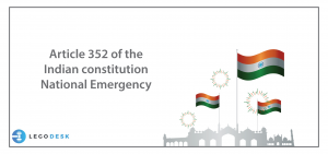 article 352 of indian constitution