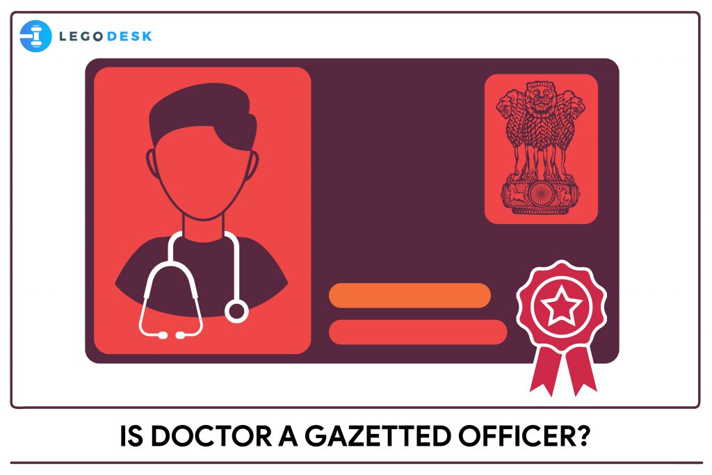 is mbbs doctor a gazetted officer