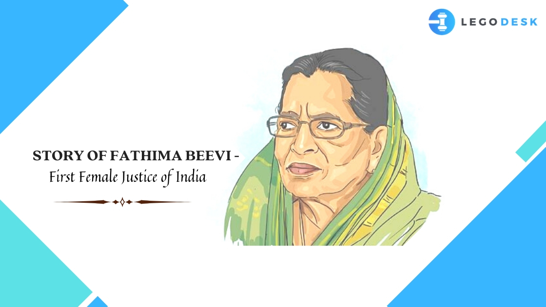 Story of Fathima Beevi - First Female Justice of India