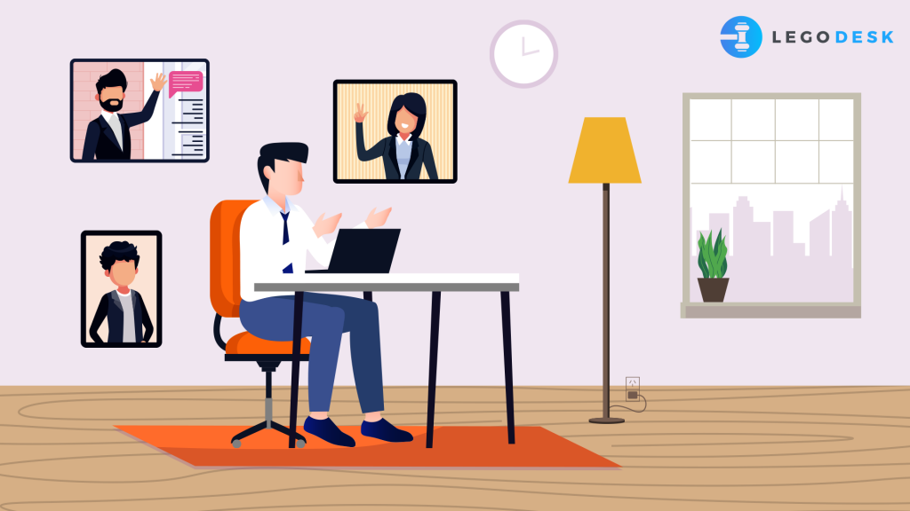 How do lawyers work from home