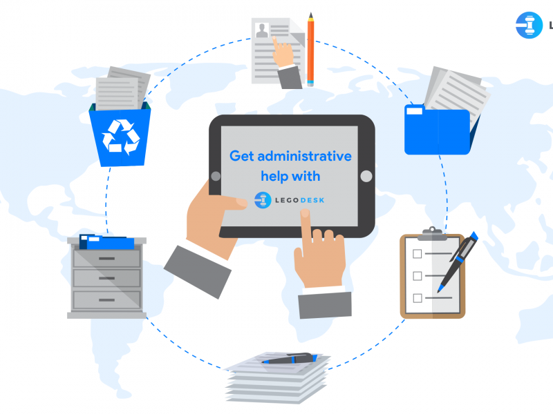Spend less time on administrative tasks with Legodesk